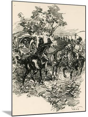 Illustration to War and Peace, by Leo Tolstoy--Mounted Giclee Print