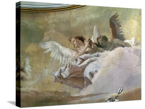 Glory of Angels-Giovanni Battista Tiepolo-Stretched Canvas Print
