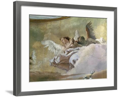 Glory of Angels-Giovanni Battista Tiepolo-Framed Art Print