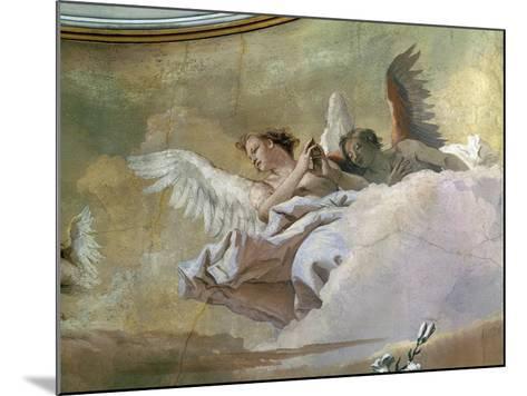 Glory of Angels-Giovanni Battista Tiepolo-Mounted Giclee Print