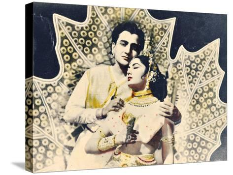 Bollywood Poster--Stretched Canvas Print