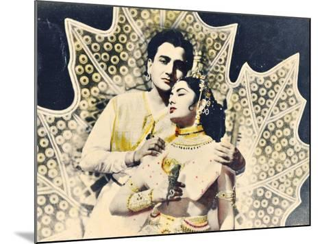 Bollywood Poster--Mounted Giclee Print