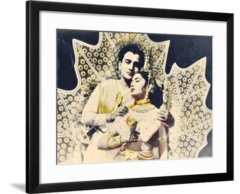 Bollywood Poster--Framed Art Print