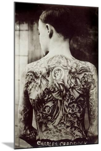 Tattooed Man, 1921--Mounted Photographic Print