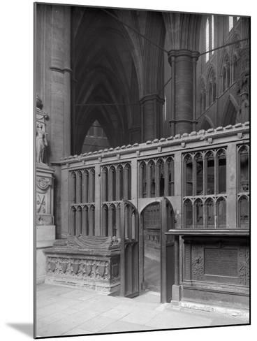 Interior of Westminster Abbey, London-Frederick Henry Evans-Mounted Photographic Print