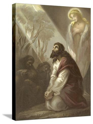 Christ in the Garden of Gethsemane--Stretched Canvas Print