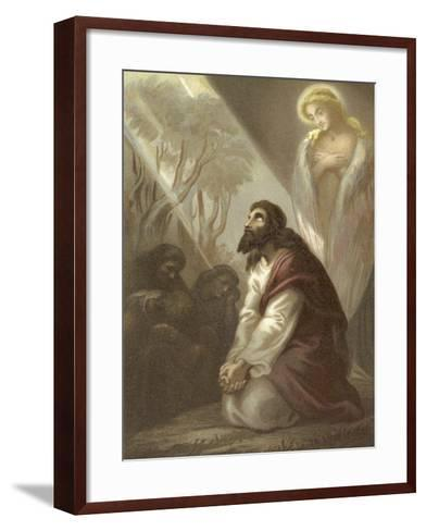 Christ in the Garden of Gethsemane--Framed Art Print