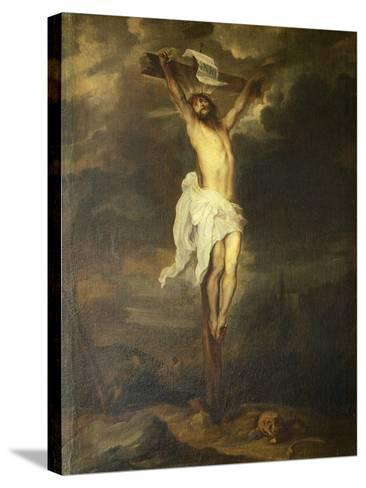 Crucifix by Anthony Van Dyck--Stretched Canvas Print