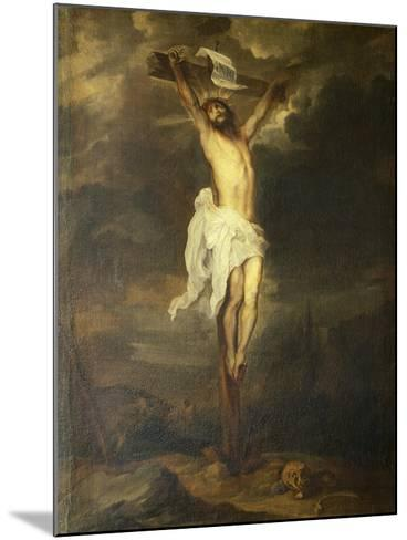 Crucifix by Anthony Van Dyck--Mounted Giclee Print
