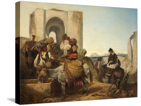 Ronda, Spanish Travellers, 1864-Richard Ansdell-Stretched Canvas Print
