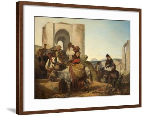 Ronda, Spanish Travellers, 1864-Richard Ansdell-Framed Art Print