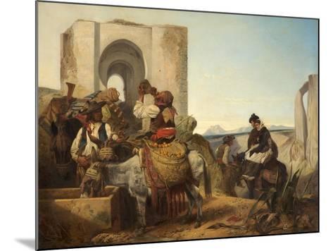 Ronda, Spanish Travellers, 1864-Richard Ansdell-Mounted Giclee Print