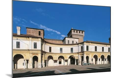 View of Piazza Castello, Palazzo Ducale, Mantua--Mounted Photographic Print