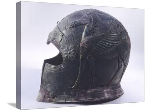 Bronze Helmet, Asso--Stretched Canvas Print