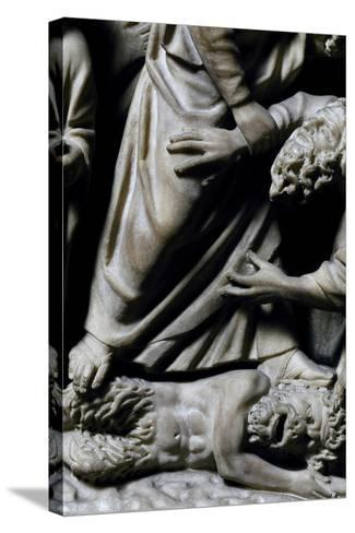 Pulpit, 1270-Fra Guglielmo of Pisa-Stretched Canvas Print