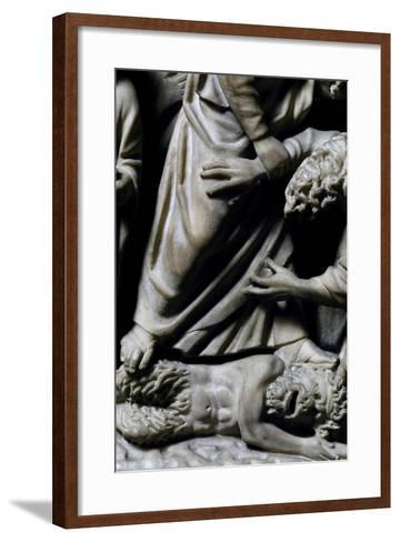 Pulpit, 1270-Fra Guglielmo of Pisa-Framed Art Print