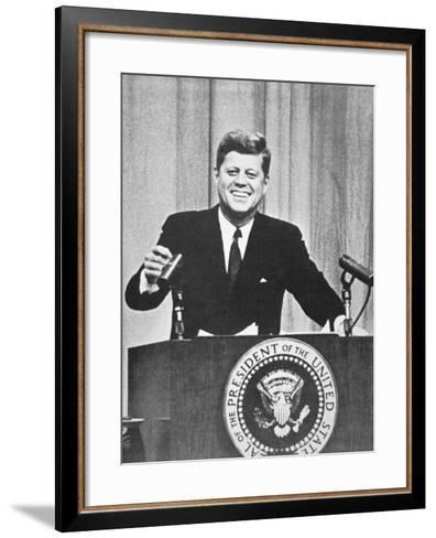 President John F. Kennedy, 1962--Framed Art Print