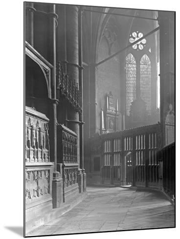Interior of Westminster Abbey-Frederick Henry Evans-Mounted Photographic Print