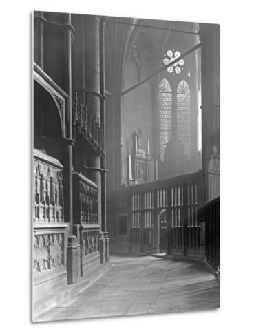 Interior of Westminster Abbey-Frederick Henry Evans-Metal Print