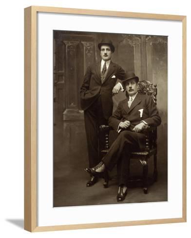 Giacomo Puccini--Framed Art Print