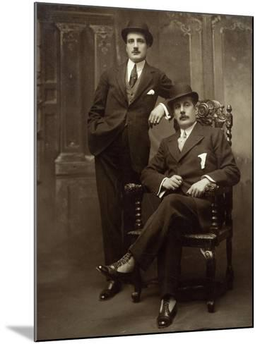 Giacomo Puccini--Mounted Giclee Print