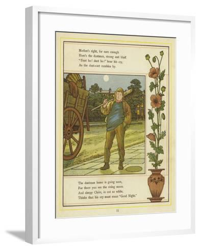The Dustman Is Coming-Thomas Crane-Framed Art Print