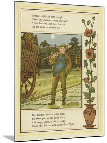 The Dustman Is Coming-Thomas Crane-Mounted Giclee Print