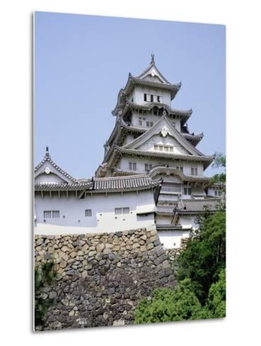 Himeji Castle, Hyogo Prefecture, Japan--Metal Print