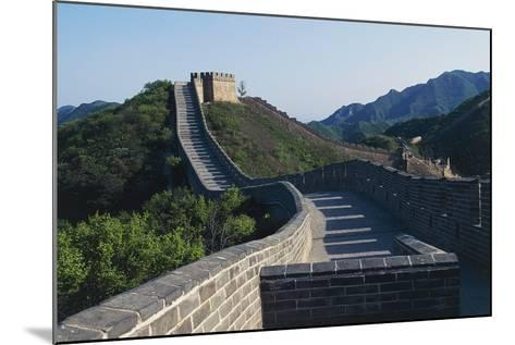 Segment of Great Wall, 1505, in Badaling--Mounted Photographic Print