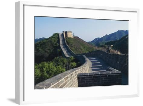 Segment of Great Wall, 1505, in Badaling--Framed Art Print