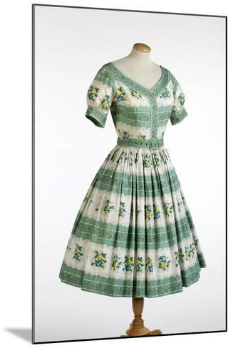 Sun Dress by Horrockses Fashions, 1954--Mounted Giclee Print