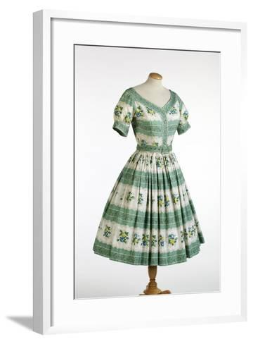 Sun Dress by Horrockses Fashions, 1954--Framed Art Print