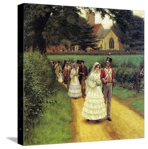 The Wedding March, 1919-Edmund Blair Leighton-Stretched Canvas Print