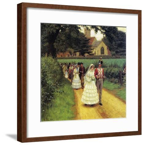 The Wedding March, 1919-Edmund Blair Leighton-Framed Art Print