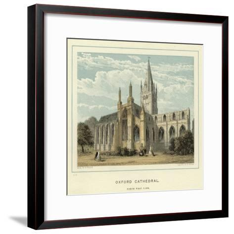 Oxford Cathedral, North West View--Framed Art Print