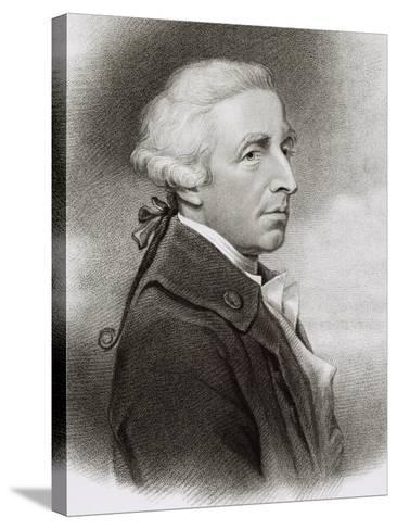 Portrait of William Douglas Hamilton--Stretched Canvas Print