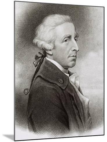 Portrait of William Douglas Hamilton--Mounted Giclee Print