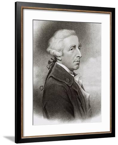 Portrait of William Douglas Hamilton--Framed Art Print