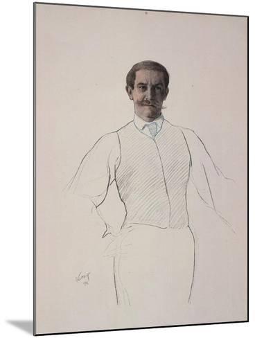 Self-Portrait, 1906-Leon Bakst-Mounted Giclee Print