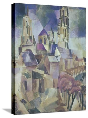 The Towers of Laon, 1912-Robert Delaunay-Stretched Canvas Print