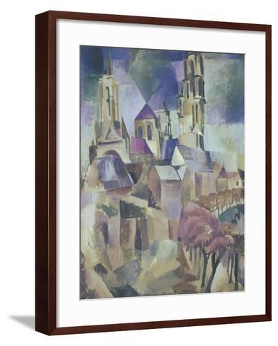 The Towers of Laon, 1912-Robert Delaunay-Framed Art Print