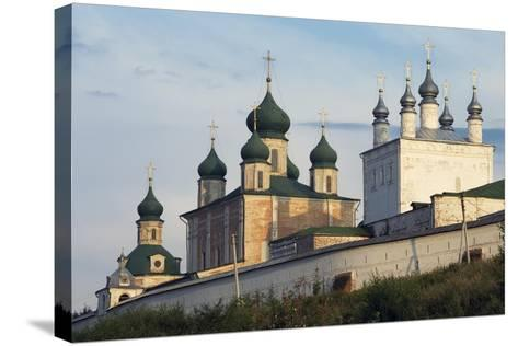 The Domes of Goritsky Monastery--Stretched Canvas Print