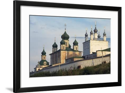 The Domes of Goritsky Monastery--Framed Art Print