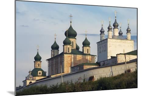 The Domes of Goritsky Monastery--Mounted Giclee Print