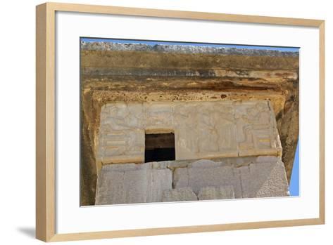 The Harpy Tomb, Xanthos, Turkey--Framed Art Print