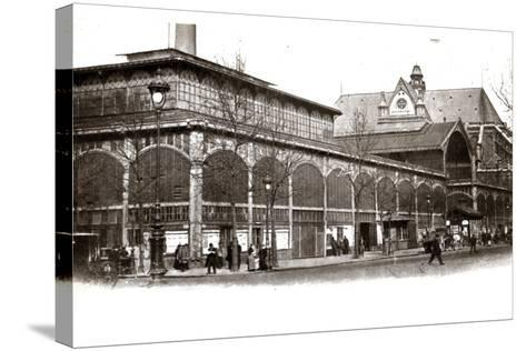 Les Halles, 1905--Stretched Canvas Print