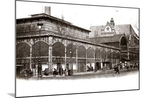 Les Halles, 1905--Mounted Photographic Print