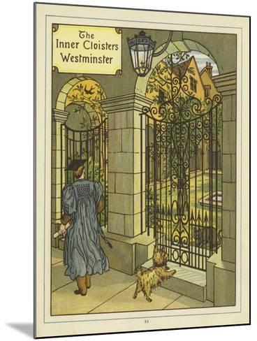 The Inner Cloisters of Westminster-Thomas Crane-Mounted Giclee Print