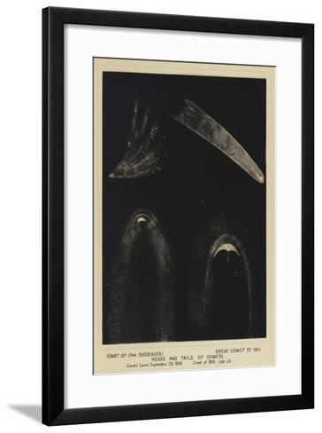 Comet of 1744--Framed Art Print