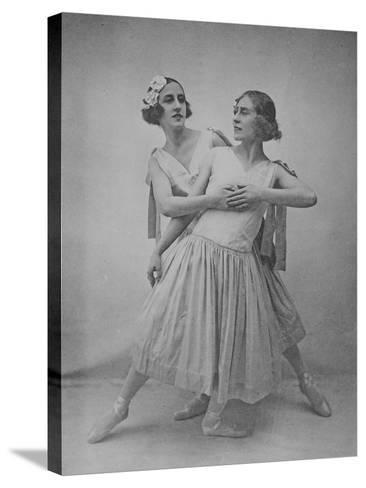 Lubov Tchernicheva and Lydia Sokolova--Stretched Canvas Print
